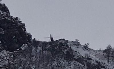 Tunceli'de Mağarada Sıkıştırılan Teröristlerin Görüntüleri Ortaya Çıktı