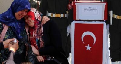 Türkiye'yi Yasa Boğan Şehit Bedirhan Bebek ve Annesi Son Yolculuğuna Uğurlanıyor