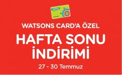 Watsons İndirim 27 - 30 Temmuz Aktüel Kataloğu - Online Watsons İndirim Broşürü