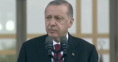Yeni Sistem Resmen Başladı! Cumhurbaşkanı Erdoğan Külliye'de Konuşma Yapıyor