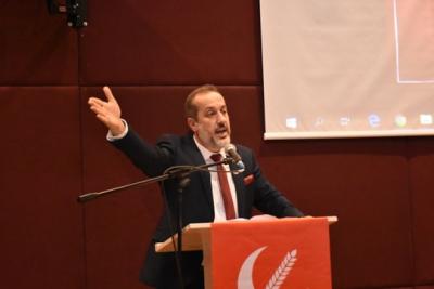 Yeniden Refah Partisi Sultangazi 1. Olağan İlçe Komgresi'de Orhan Kara Başkan Seçildi