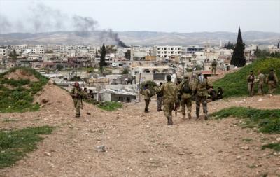 YPG'nin Savunma Hatları Çöktü! Mehmetçik Eller Tetikte Afrin'e Girmek İçin Emir Bekliyor