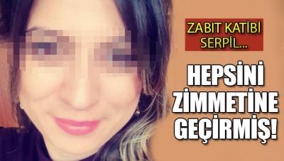 Zabıt Katibi Serpil, Adliyede 16 Bin Lirayı Zimmetine Geçirmiş