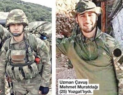 Zeytin Dalı Harekatı'nın İkinci Gününde Şehit Olmuşlardı! Afrin Şehitleri Mehmet Muratdağı ve Oğuz Kaan Usta'nın Naaşlarına Ulaşıldı
